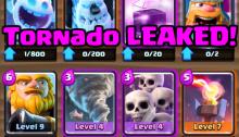 Clash Royale Tornado Leaked December 2016 Update