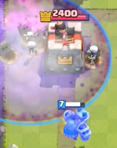 Clash Royale Graveyard Mega Minion