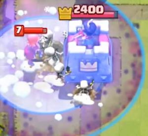 Clash Royale Graveyard Freeze