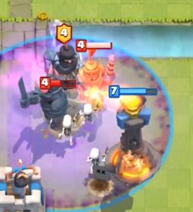 Clash Royale Graveyard vs PEKKA Double Prince