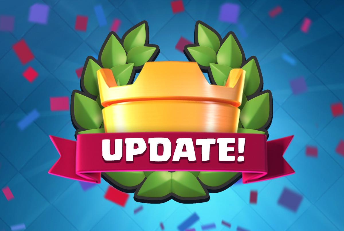 clash royale update november 2016