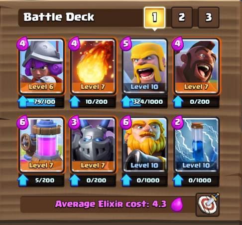 Clash Royale Best Royal Giant Hog Deck