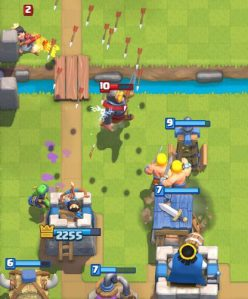 Clash Royale Royal Giant Spawner Deck Defense