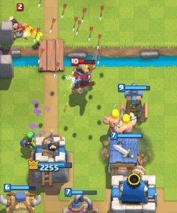 Clash Royale Royal Giant Spawner Deck Defense