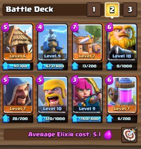 Clash Royale Royal Giant Spawner Deck