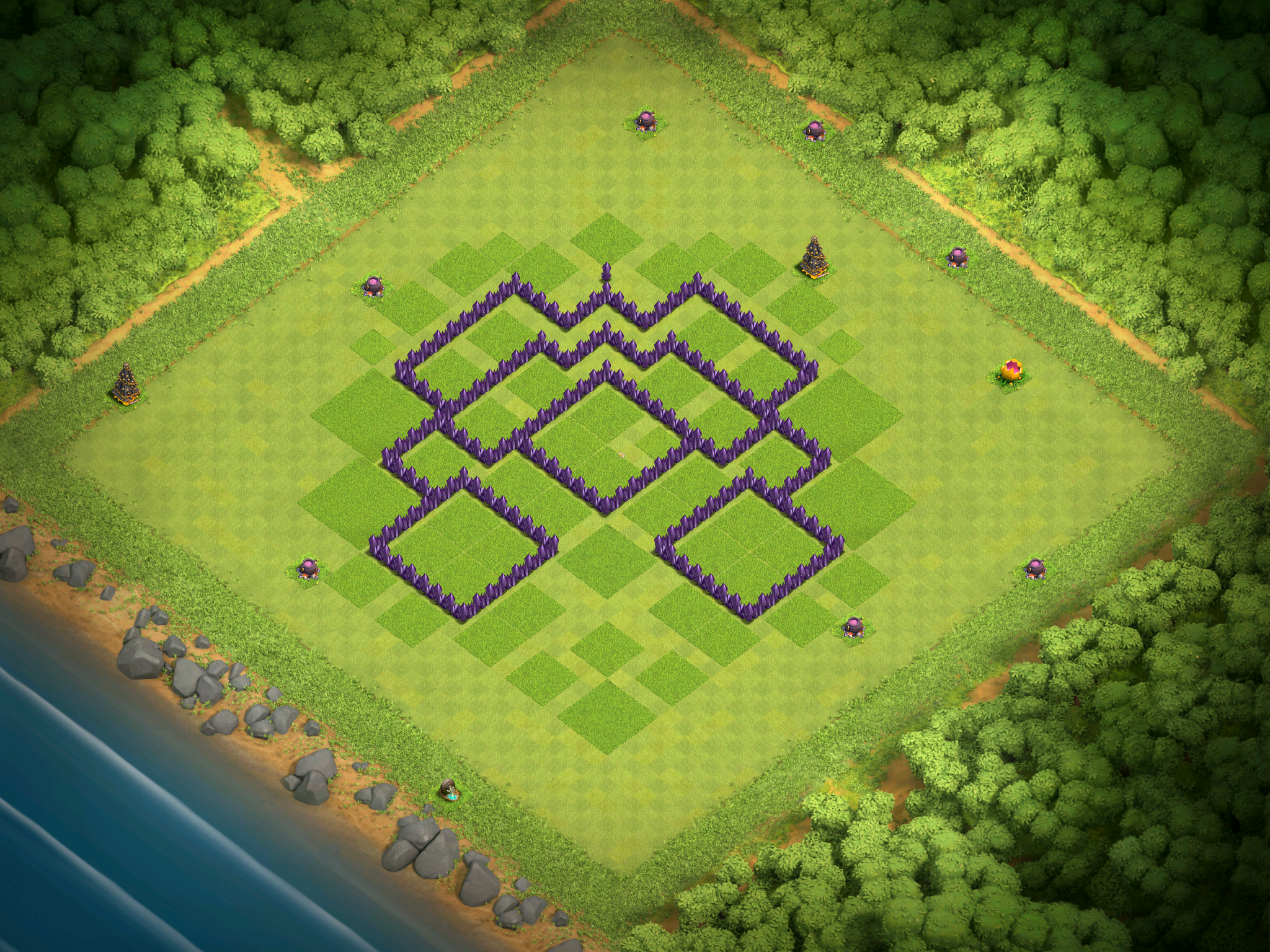 Best Town Hall 7 Base Design For November 2016 Clash For Dummies