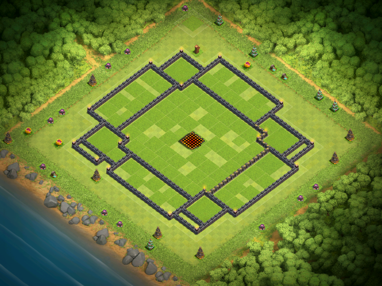 Clash of Clans Best TH10 Farming Base November 2016