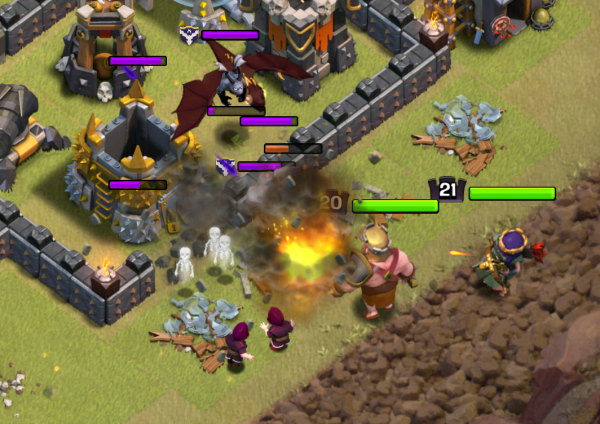 Clash of Clans Three Star GoHo TH9 Strategy Heroes