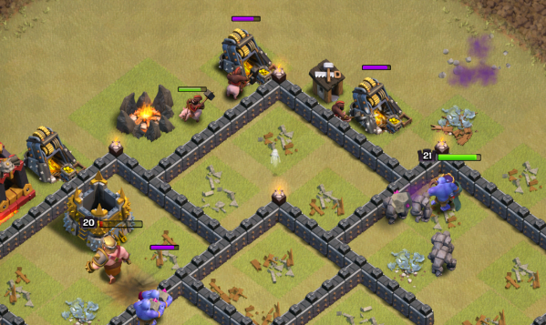 Clash of Clans Three Star GoHo TH9 Strategy Cleanup
