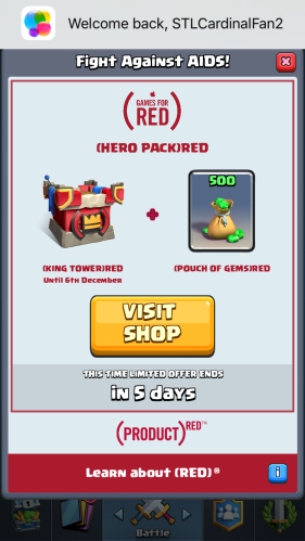 Clash Royale RED Update