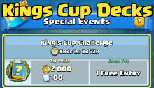 Clash Royale Kings Cup Decks How to Win
