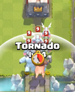 Clash Royale Tornado New Card Strategy Offensive