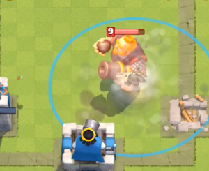 Clash Royale Tornado New Card Strategy Royal Giant