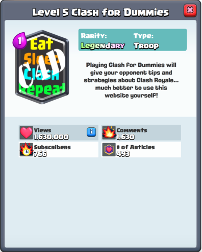 Clash Royale Card Maker Make your Own Cards