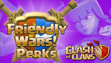 Clash of Clans Friendly War Perks