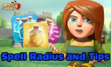 Clash of Clans Spell Radius Tips