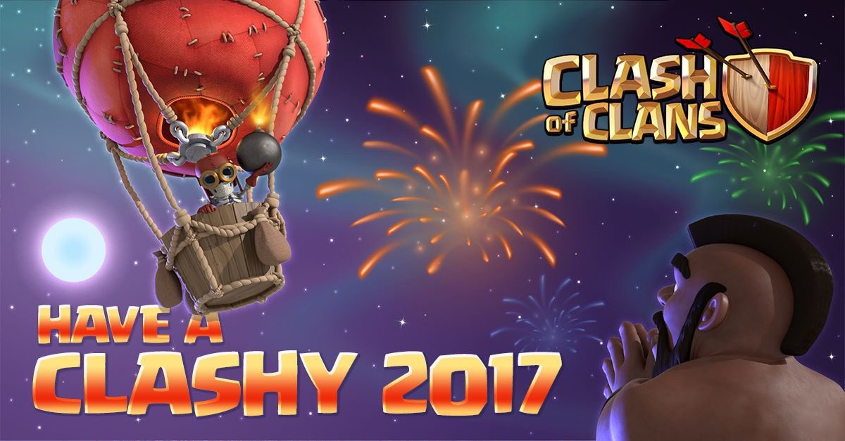 New Clash Of Clans And Clash Royale Updates For 2017 Clash For