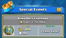 Clash Royale Blind Deck Challenge Update