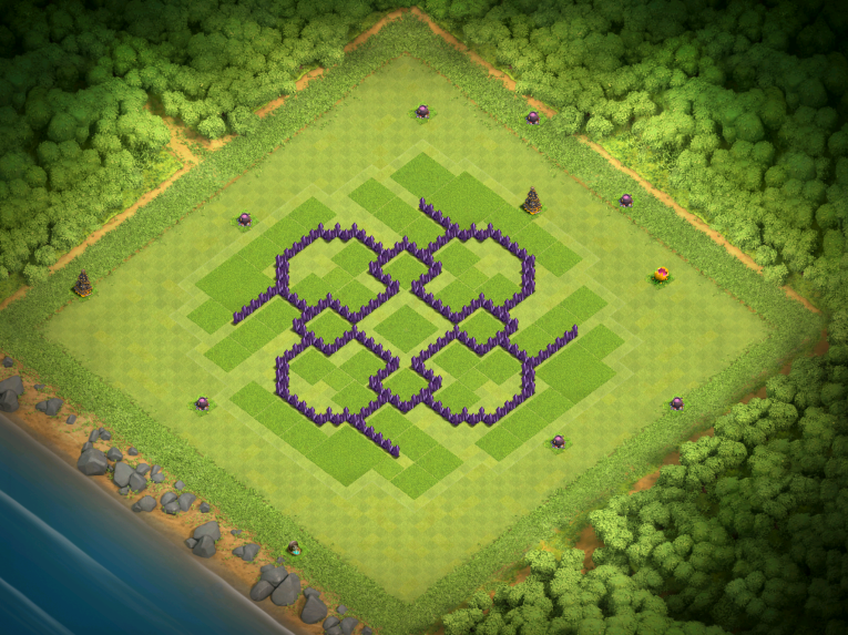 Clash of Clans Best TH7 Farming Base December 2016