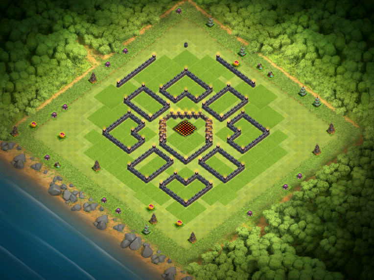 Clash of Clans Best TH10 Farming Base December 2016