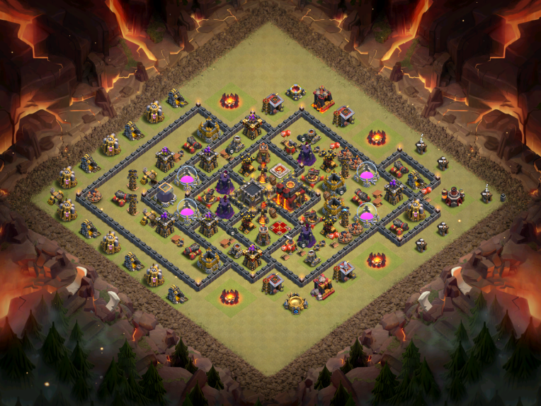 Clash of Clans Best TH10 War Base December 2016