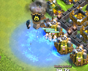 Clash of Clans Freeze Trap Strategy