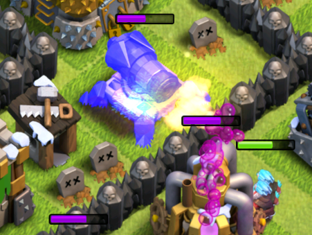 Clash of Clans Ice Wizard Attacking Strategy