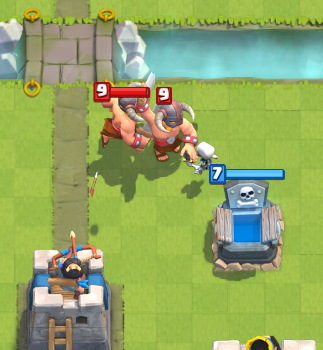 Clash Royale Elite Barbarians Counter Tombstone