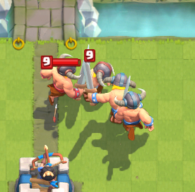 barbarians clash royale how to draw