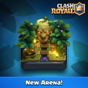 Clash Royale New Jungle Arena December 2016 Update