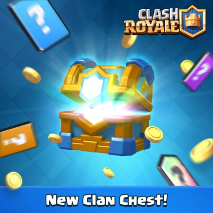 Clash Royale New Clan Chest