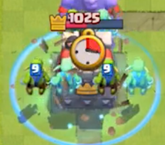Clash Royale Goblin Barrel Clone Spell