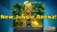 Clash Royale Jungle Arena Sneak Peek December 2016 Update