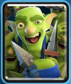 Clash Royale Goblin Gang New Card