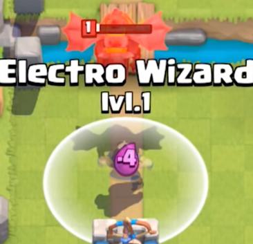 Clash Royale Electro Wizard vs Lava Hound
