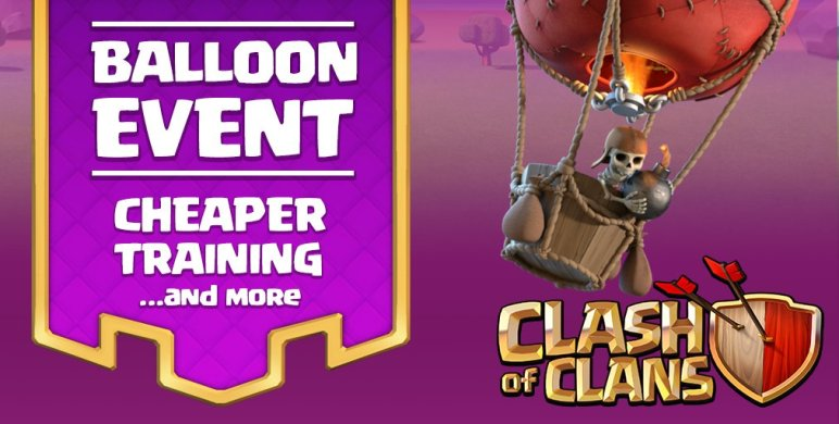 Clash of Clans Balloon Event