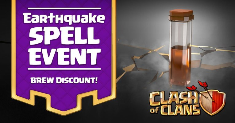 Clash of Clans Earthquake Spell Event