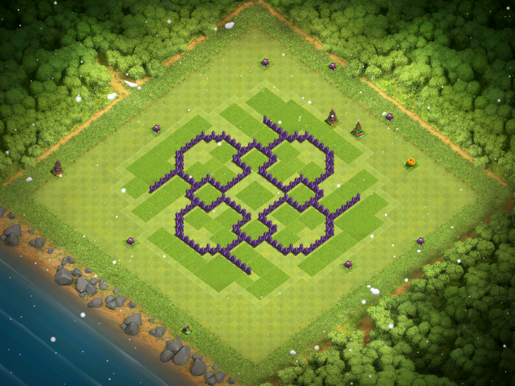 Clash of Clans Town Hall 7 War Base 2017