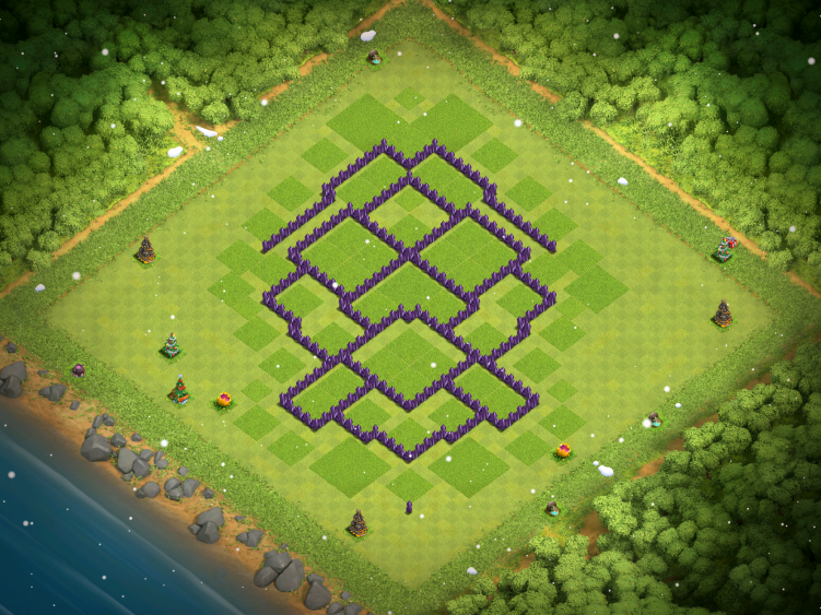 Clash of Clans Town Hall 8 War Base 2017