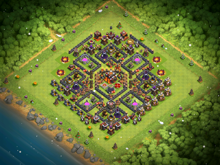 Clash of Clans Town Hall 10 War Base 2017