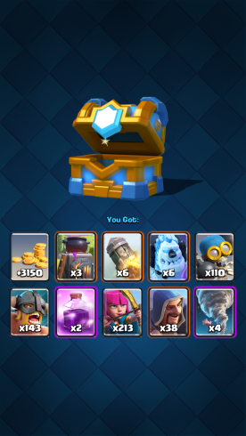 Clash Royale Clan Chest Rewards