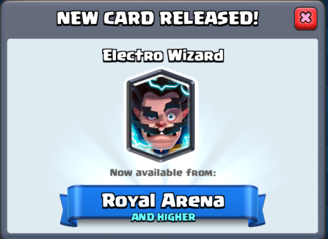 Clash Royale New Card Update