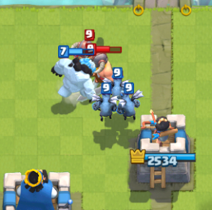 Clash Royale Elite Barbarians Counter