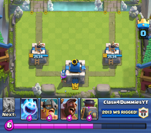 Clash Royale Starting Hand Musketeer