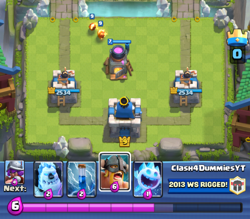 Clash Royale Starting Hand Furnace