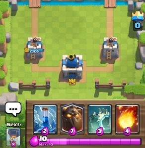 Clash Royale LavaLoonion Starting Hand