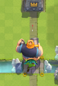 Clash Royale Dart Goblin Royal Giant Strategy