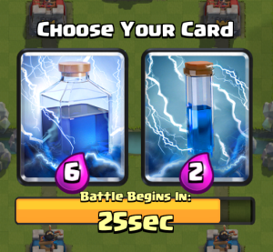 Clash Royale Draft Challenge Zap Lightning