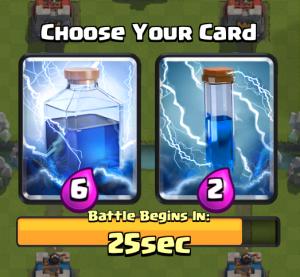 Clash Royale Draft Challenge Zap Lightning