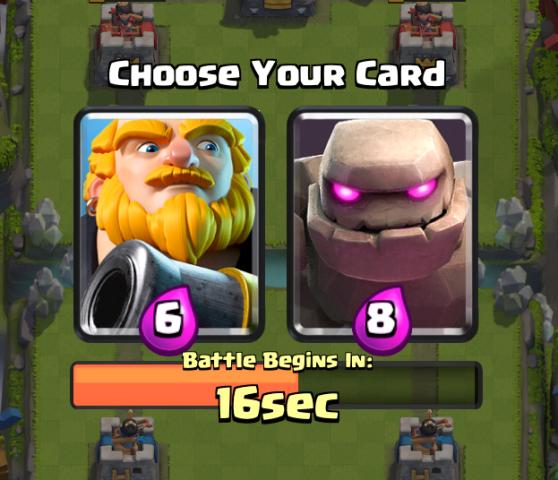Clash Royale Draft Challenge Royal Giant Golem